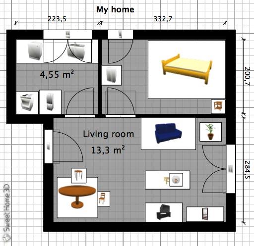 Home sweet home 3d come progettare ed arredare la for Software per arredare casa 3d